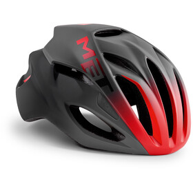 MET Rivale Bike Helmet red/black